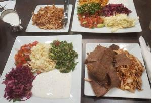Doner in Plate